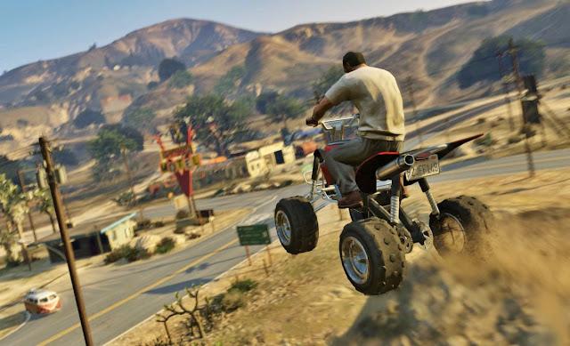 Grand Theft Auto V + RELOADED Screenshot 1