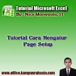 cara, mengatur, page, setup, pada, microsoft, excel, margin, ukuran, kertas