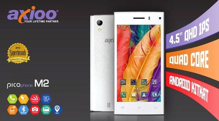 Axioo PICOPhone M2 Dengan Prosesor 4 Inti  Namun Kinerja Kurang Maksimal