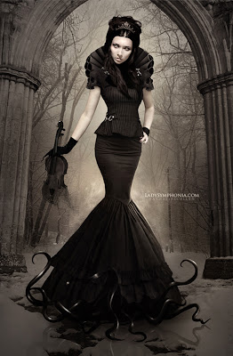 beautiful woman fantasy - gothic 1 wallpaper
