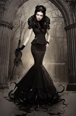 beautiful woman fantasy - gothic 1 wallpaper