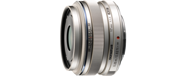 Olympus 17mm f/1.8 M.ZUIKO Micro Four Thirds Lens