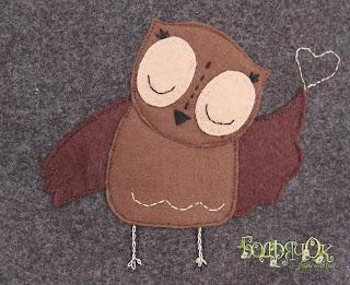 сумка из сукна, сумка из фетра, сумка для зимы, сумка сова, сова, совушка, аппликация сова