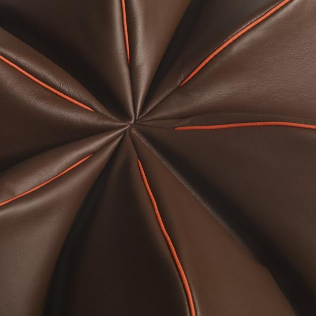 Leather Beanbag Chocolat