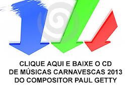 Cd de Música Carnavalesca 2013