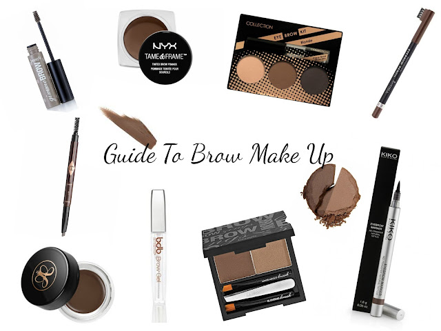 Guide to - eyebrow make up - brows - eyebrow pencil - eyebrow powder - eyebrow pens - eyebrow liner - eyebrow pomades - eyebrow products - how to - which should I use