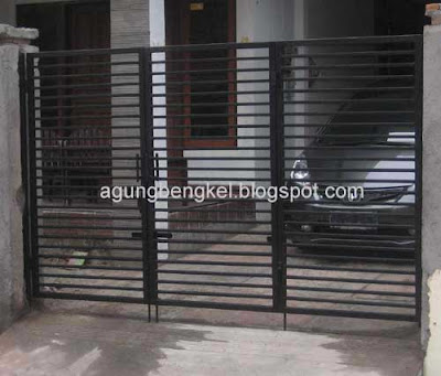 bengkel agung semarang pagar besi pintu gerbang