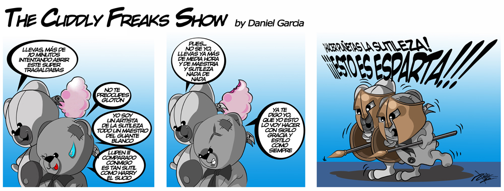 The Cuddly Freaks Show Tira 10: Sutileza y otras cosas