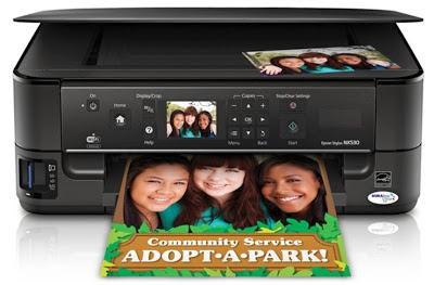reset printer epson nx530