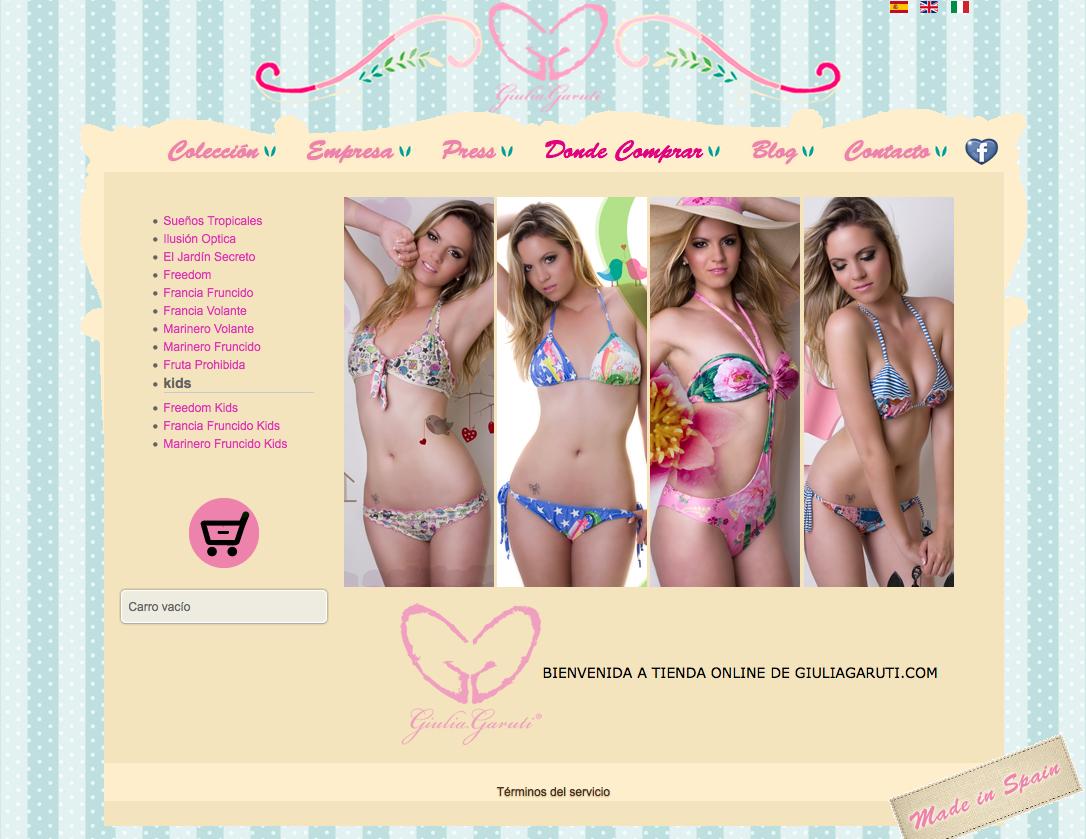 Giulia Garuti Bikinis