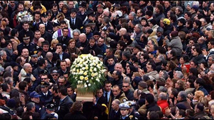 marco pantani funeral