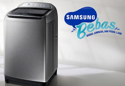mesin cuci samsung bebas