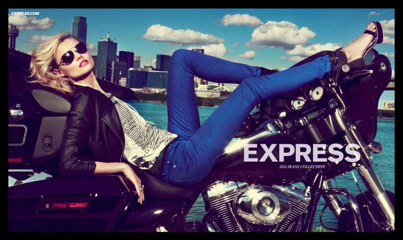 The Essentialist - Fashion Advertising Updated Daily: Express ...