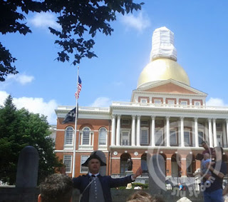 Freedom Trail Tour Boston Capitol Building