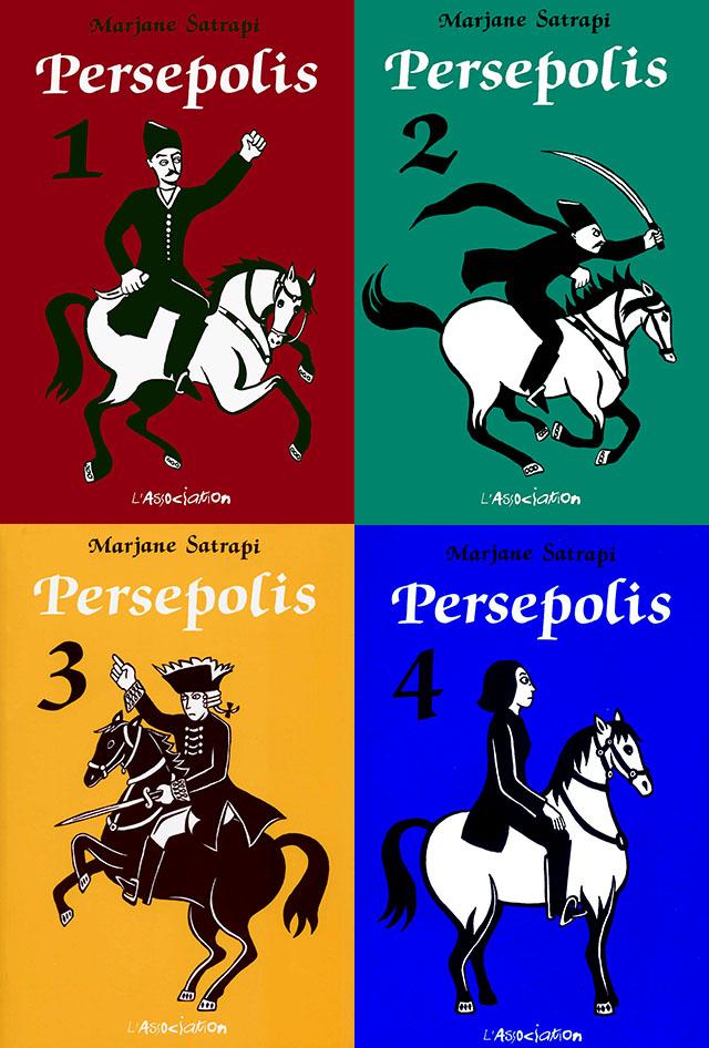 Persépolis - Marjane Satrapi Comic_persepolis