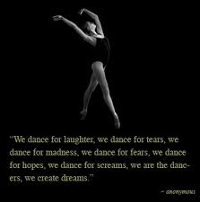 dance team quotes inspirational quotesgram