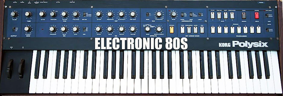 ELECTRONIC 80s - by Michael Bailey
