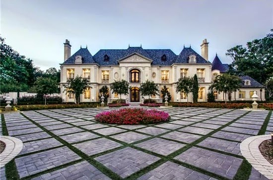 limestone french mansion for sale in dallas tx for 9988000