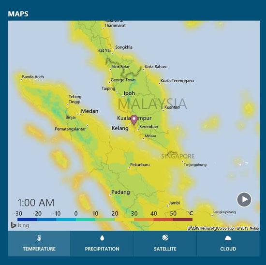 Cuaca Sejuk Melanda Malaysia