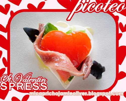 Mi capricho jamie oliver un picoteo por san valentin for Canape jamie oliver