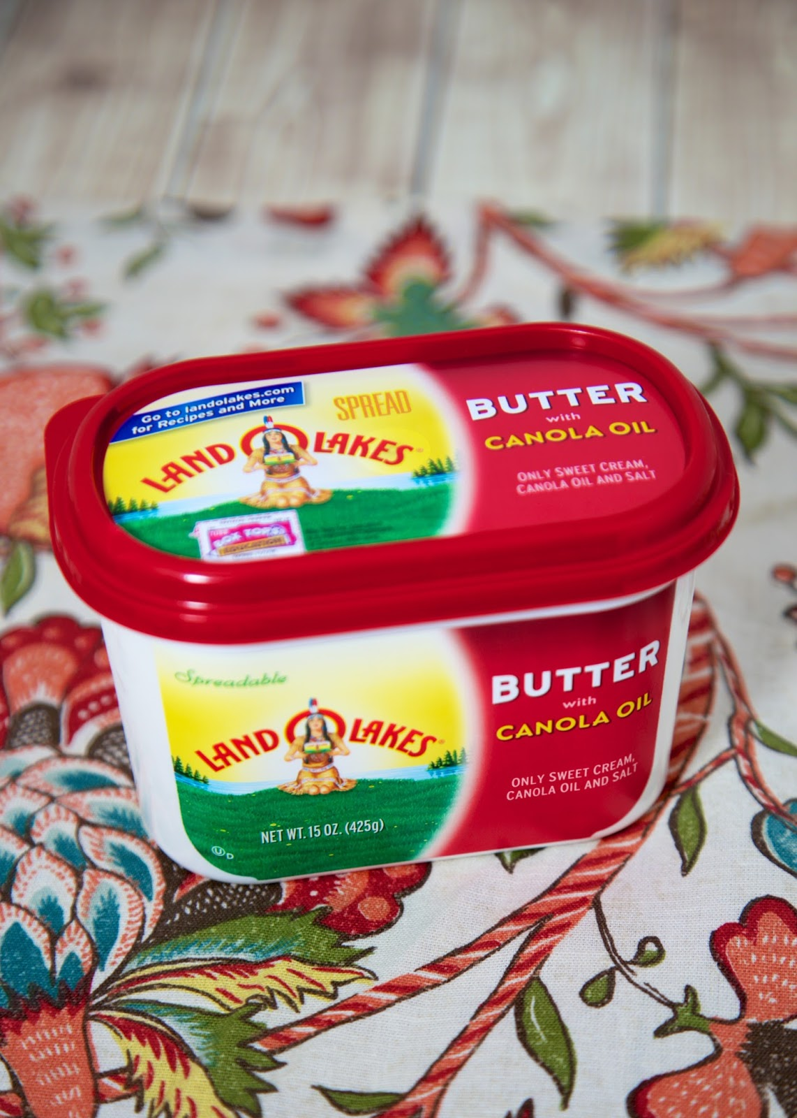 land o lakes® butter with canola oil {new favorite}