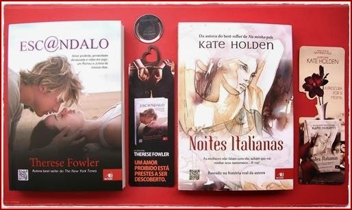 Escândalo - Therese Fowler e Noites Italianas - Kate Holden