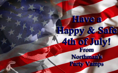 Happy 4th of July@northmanspartyvamps.com