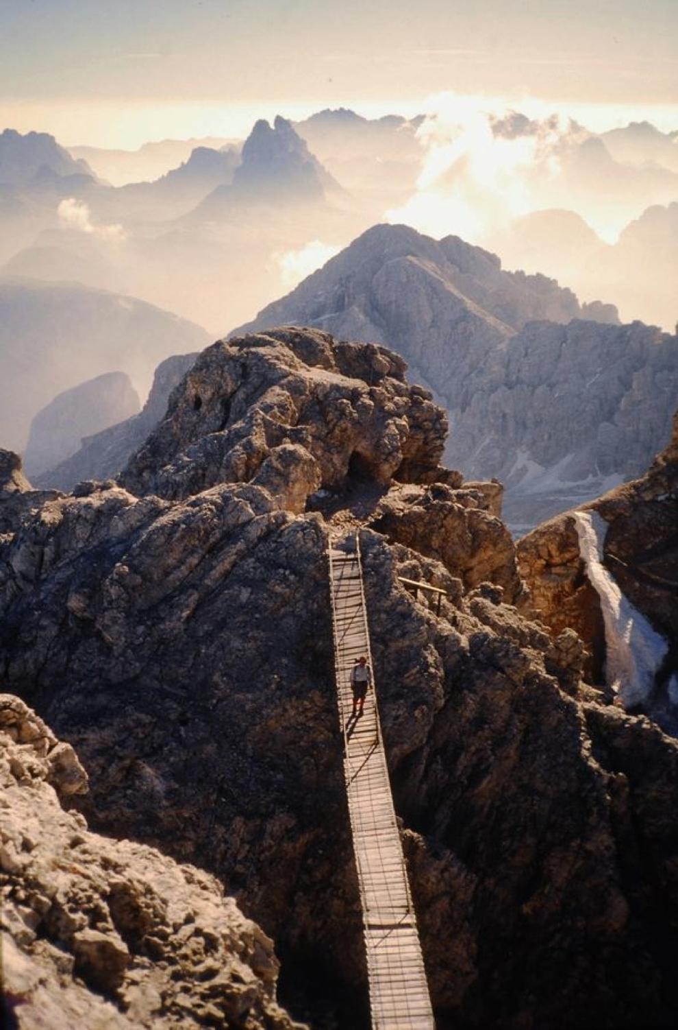 Monte Cristallo, Dolomites of Trentino, Italy.