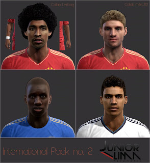 Facepack International by JuniorSD