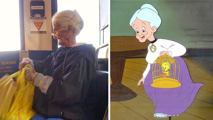 بالصور: شخصيات الكارتون على أرض الواقع