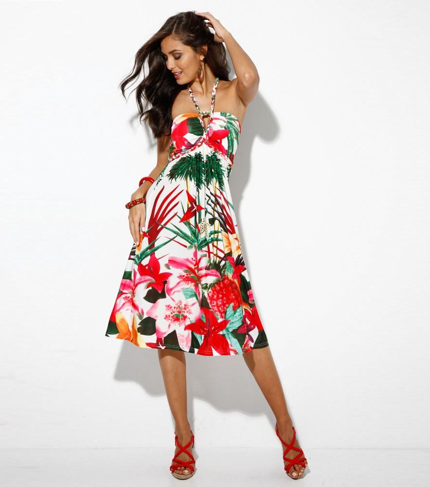 Moda en vestidos cortos de temporada