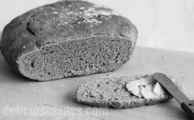Pan de trigo y salvado de avena al aroma de orégano