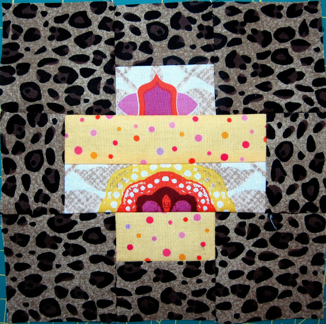 Tula Pink's City Sampler Sew Along Block 6