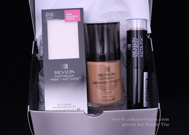 a photo of Revlon PhotoReady Airbrush Effect Makeup, Prime + Anti Shine Review + New Insta-Fix