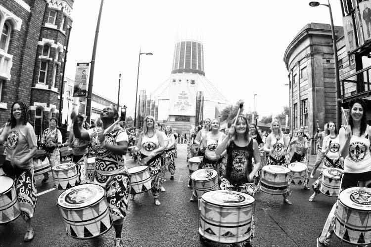 Batala Liverpool fundraising Gaza Crisis