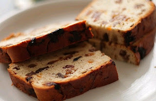 Barmbrack, the traditional Irish Halloween Bread