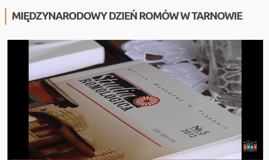 http://imav.tv/news/miedzynarodowy-dzien-romow-w-tarnowie
