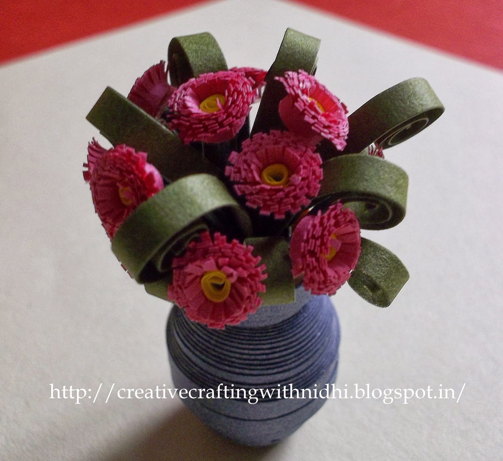 Being Creative In The World Of Paper Crafting 3d Quilled Flower