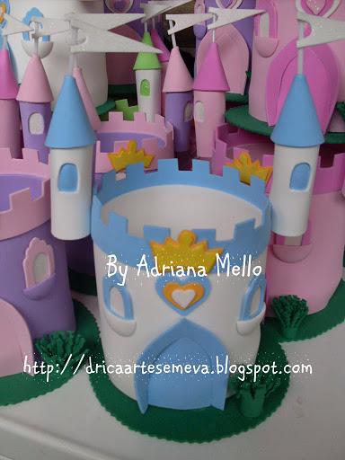 Castelos Das Princesas   Centro De Mesa