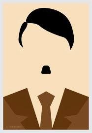 Ilustración Hitler