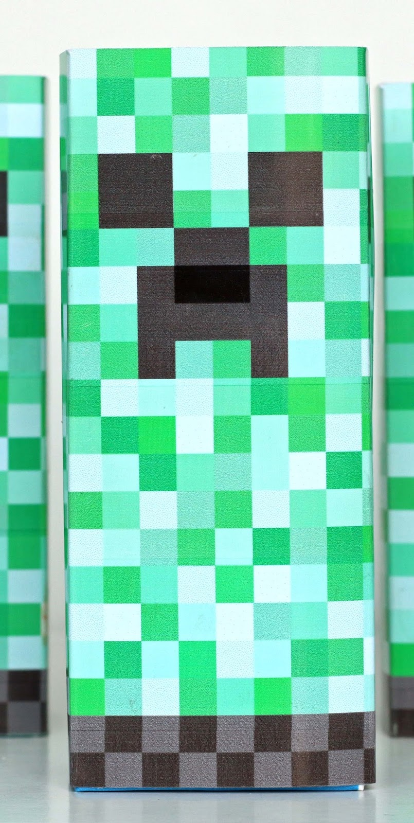 It's just an image of Adorable Minecraft Creeper Face Printable