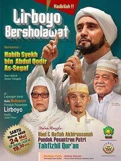 Jadwal Habib Syech Bulan Mei 2014 | Lirboyo Kediri Jatim