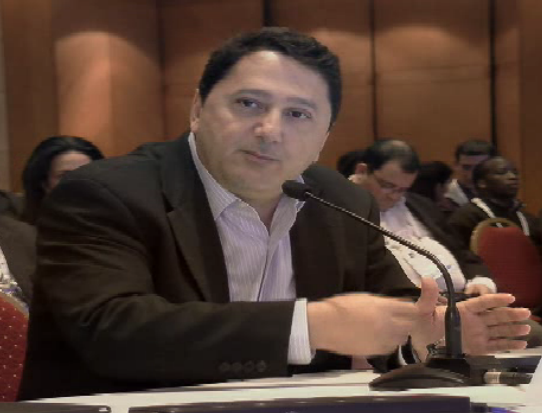 "photo: Akram Atallah, President of  ICANN's Global Domains Division, on the ""hot seat"" at ICANN 53"