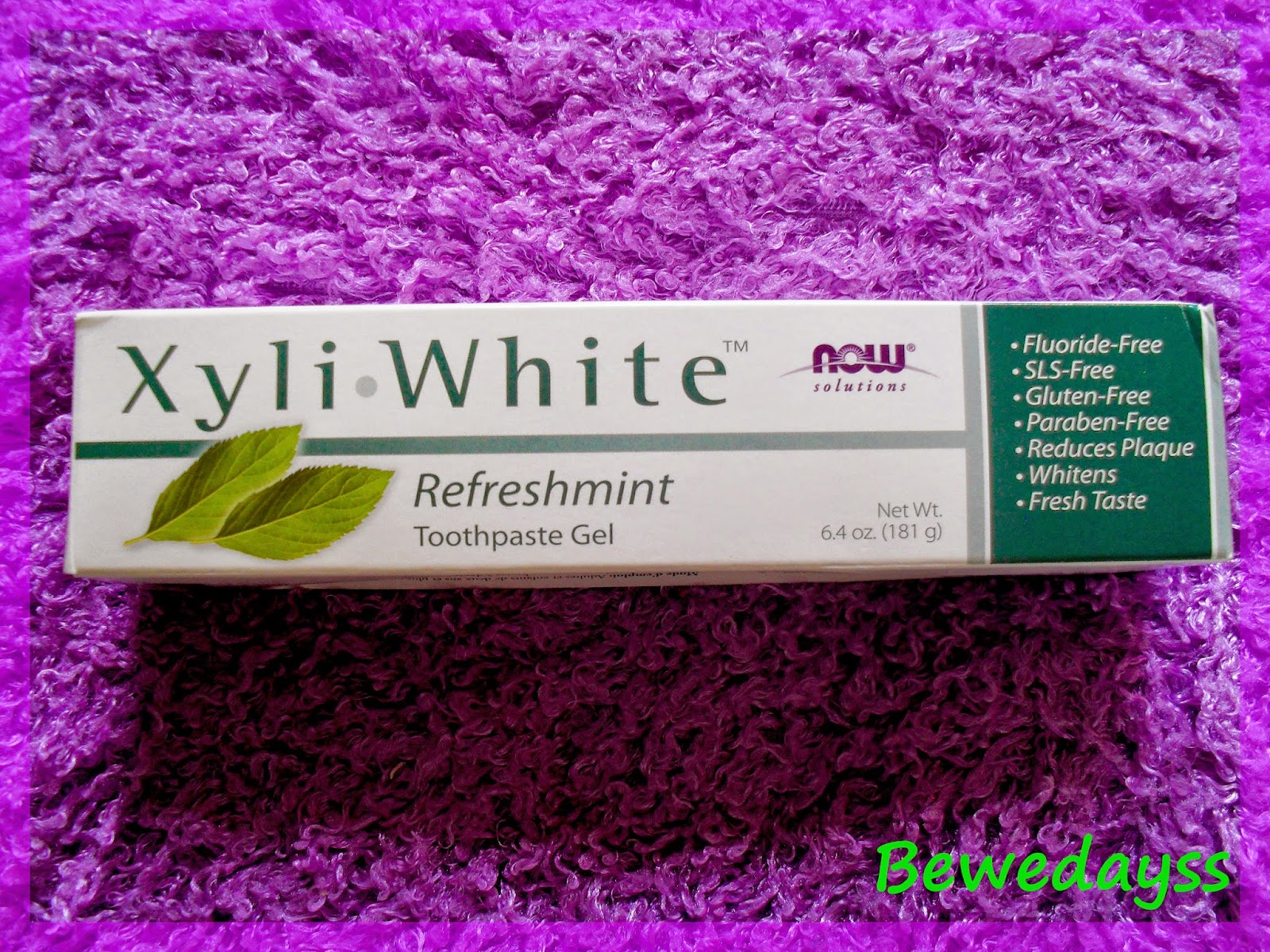 Now Foods, Solutions, Xyli-White Toothpaste Gel, Refreshmint