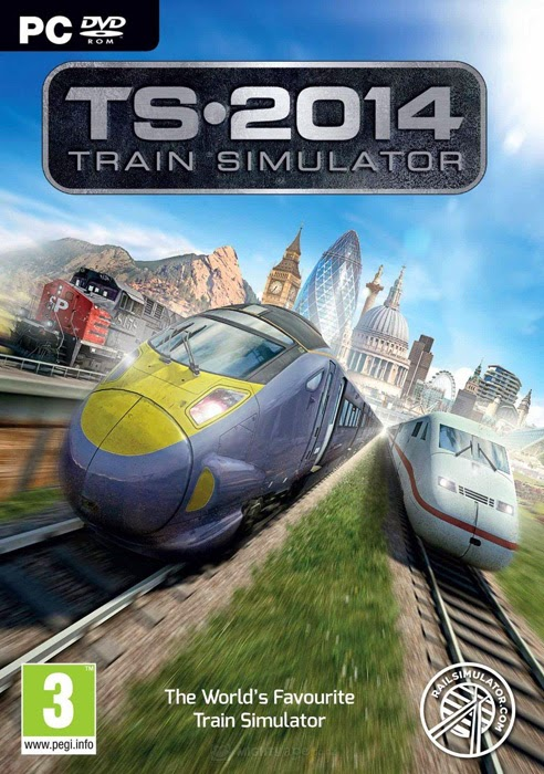 Train Simulator 2014 Tek Link Full Oyun İndir