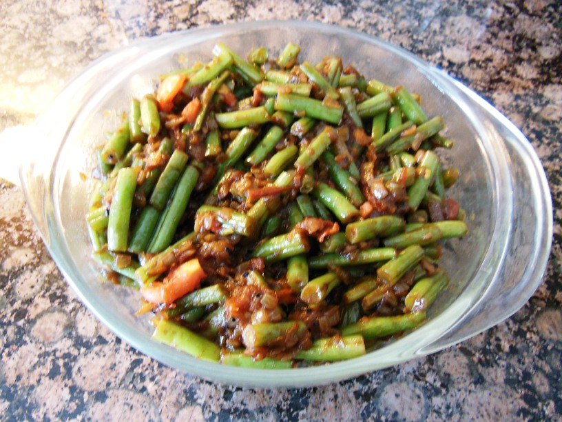 Chumkies kitchen burmese green beans burmese green beans forumfinder Image collections