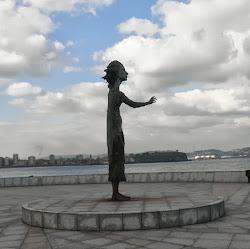 madre del emigrante Gijón