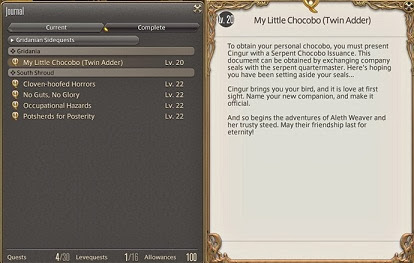 ff14 how to buy storm chokobo issuance