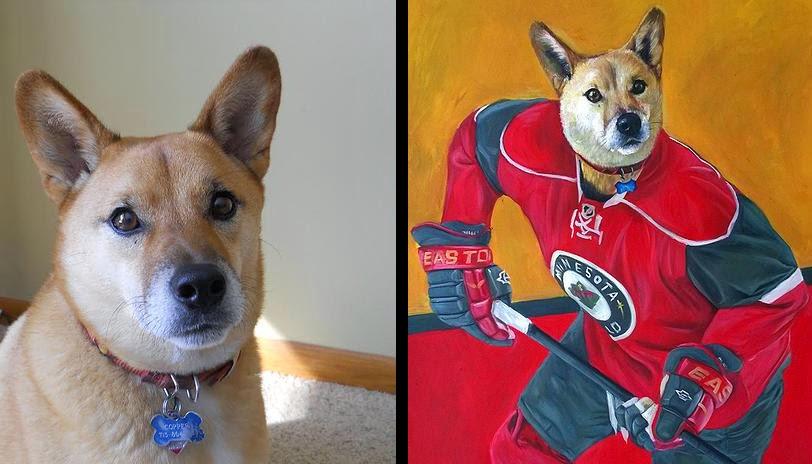 01-Ice-Hockey-Splendid-Beast-Your-Animal-Friend-on-an-Oil-Painting-www-designstack-co