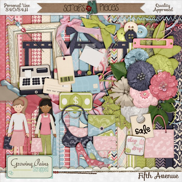 5th Avenue by Growing Pains Scrapped plus a freebie